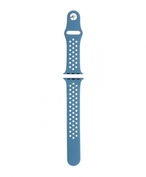 Sport strap compatible met Apple Watch 42/44mm / B024 - blauw