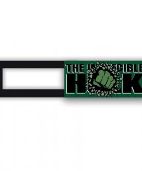 Webcam cover / schuifje  - licentie™ - Hulk 01 - groen