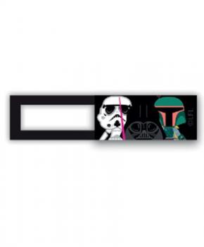 Webcam cover / schuifje  - licentie™ -  Star Wars 05 -zwart