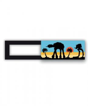 Webcam cover / schuifje  - licentie™ - Star Wars 06 -gekleurd