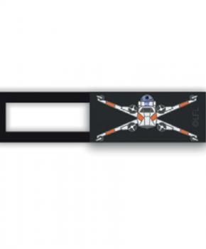 Webcam cover / schuifje  - licentie™ - Star Wars Q15 - zwart