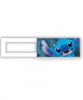 Webcam cover / schuifje  - licentie™ - Stitch - blauw