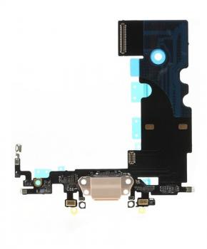 Voor Apple iPhone 8 dock-connector flexkabel - goud
