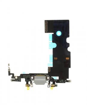 Voor Apple iPhone 8 dock-connector flexkabel - wit