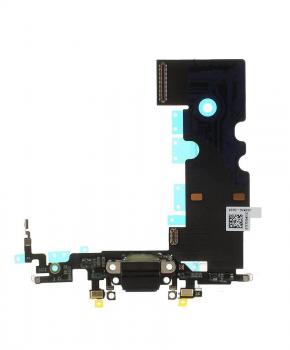 Voor Apple iPhone 8 dock-connector flexkabel - zwart