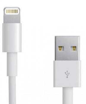 USB laadkabel compatibel met Lightning HD5 -1.2 M wit