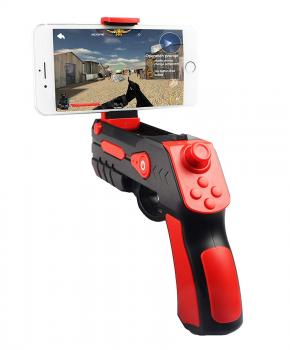 Augmented reality gun blaster zwart/rood - voor IOS/Android