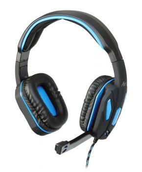Gaming Headset met mic - Art X1 Hydro Pro - blauw
