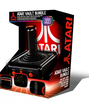 Atari Retro Pc Usb Joystick &Ndash; Vault Bundle (100 Games)