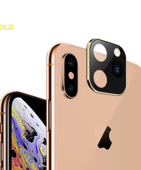 voor iphone X/Xs/Xs Max camera cover iPhone 11 Pro stijl 2 - goud