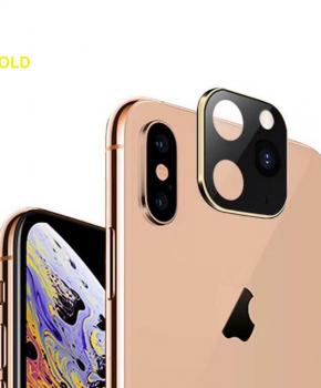 voor iphone X/Xs/Xs Max camera cover iPhone 11 Pro stijl 2 - goud