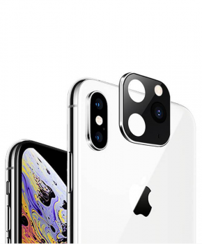 voor iphone X/Xs/Xs Max camera cover iPhone 11 Pro stijl 2 - zilver