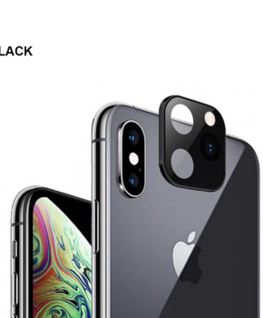 voor iphone X/Xs/Xs Max camera cover iPhone 11 Pro stijl 2 - zwart