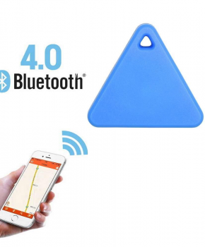 Mini tracker - bluetooth tracker - driehoek blauw