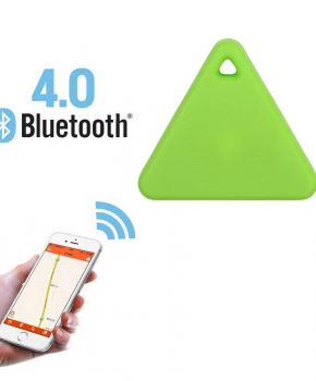 Mini tracker - bluetooth tracker - driehoek groen