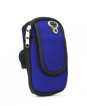 Sport armband tasje FULL CLOSE - blauw