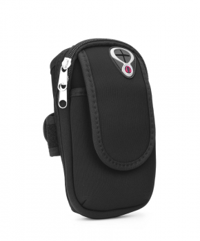 Sport armband tasje FULL CLOSE - zwart