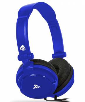 4Gamers PRO4-10 - Gaming Headset - Blauw - PS4