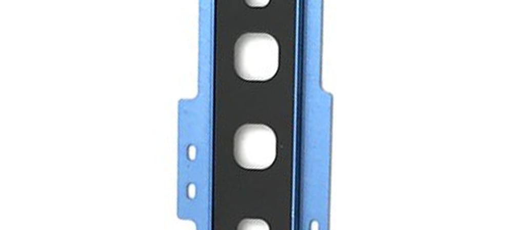 Achter camera cover met lens glas voor de Samsung Galaxy S10 – blauw