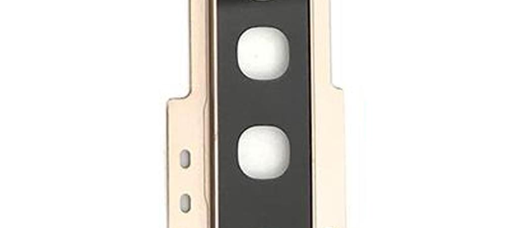 Achter camera cover met lens glas voor de Samsung Galaxy S10 – goud