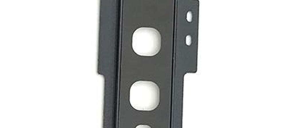 Achter camera cover met lens glas voor de Samsung Galaxy S10 – zwart