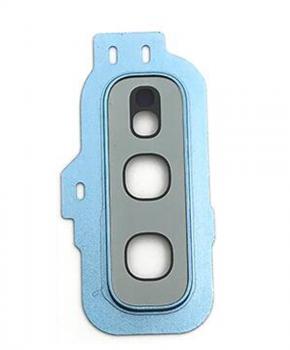Achter camera cover met lens glas voor de Samsung Galaxy S10E - blauw