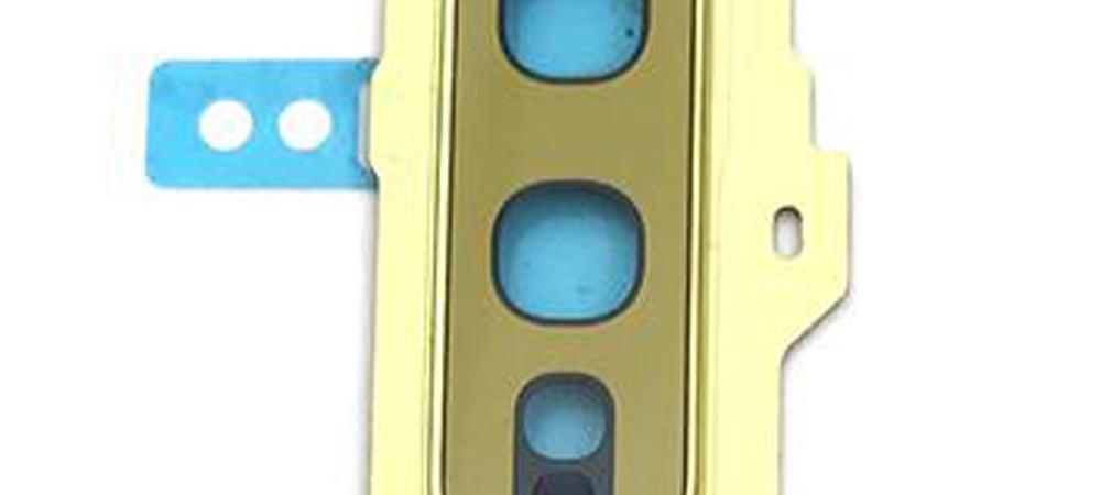 Achter camera cover met lens glas voor de Samsung Galaxy S10E – geel