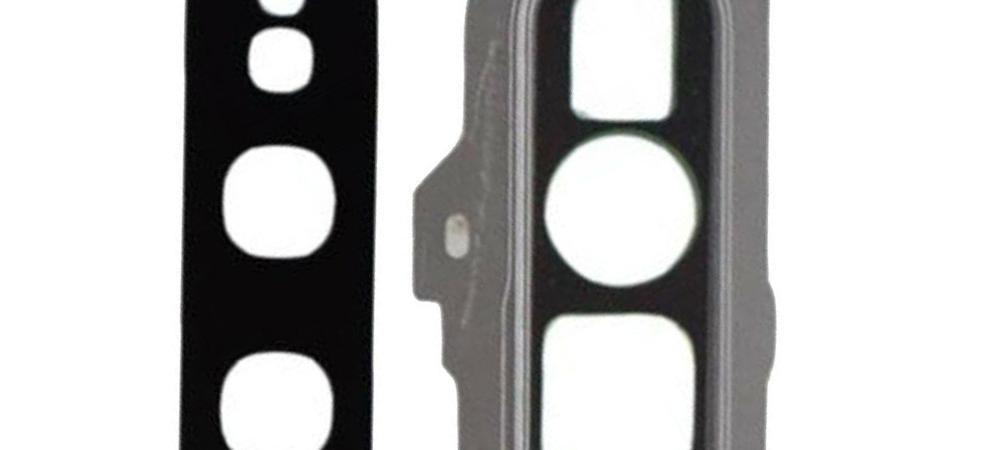 Achter camera cover met lens glas voor de Samsung Galaxy S10E – zilver