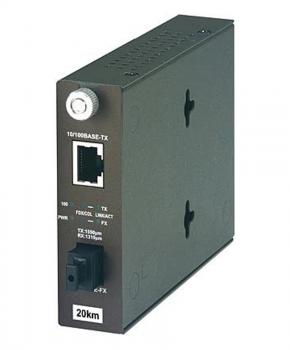 Trendnet TFC-110S20D5 netwerk media converter 100 Mbit/s 1310 nm