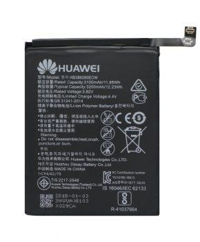Originele Huawei P10 batterij HB386280ECW - 3200 mAh