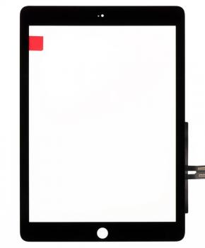 voor iPad 2018 aanraakscherm - zwart - A+ kwaliteit