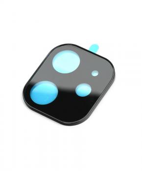 Camera lens beschermer voor iPhone 11 - gehard glas - zwart
