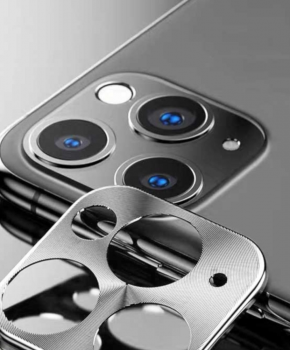 Camera lens beschermer iPhone 11 Pro / iPhone 11 Pro Max - zilver