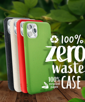 Forcell BIO - Zero Waste-hoes voor iPhone 11 pro - groen