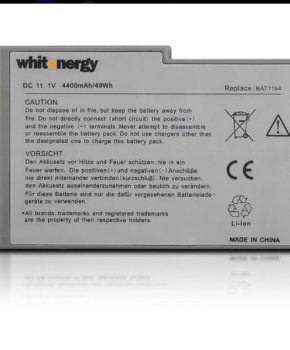 Whitenergy Battery Dell Latitude D500 / D600 11.1V Li-Ion 4400mAh
