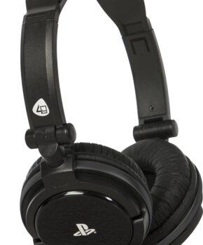 4Gamers PRO4-10 Stereo Gaming Headset PS4 + PS Vita - zwart