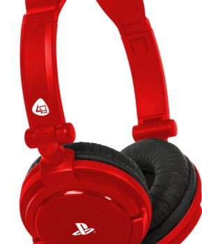 4Gamers PRO4-10 Stereo Gaming Headset PS4 + PS Vita - rood