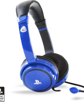 4Gamers PRO4-40 - Gaming Headset - blauw - PS4