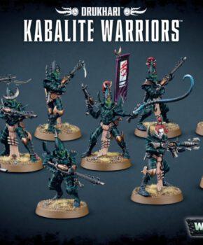 Warhammer 40K - Drukhari - Kabalite Warriors - verzamelfiguur