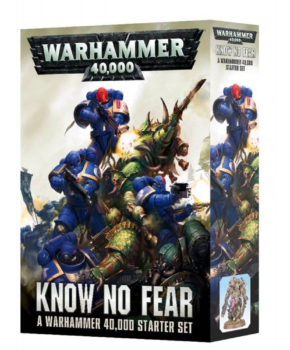 Warhammer 40.000 Know No Fear: Starter Set - 31 delig