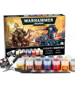 Warhammer 40,000 Citadel Essentials Set - english
