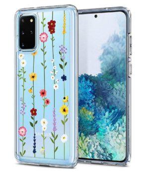 Spigen Ciel by Cyrill Cecile Samsung S20 Plus Hoesje Flower Garden