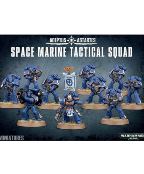Warhammer 40K – Space Marine Tactical Squad