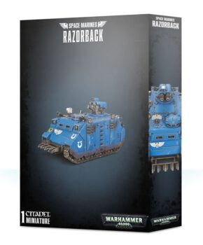 Space Marines Razorback - Ultramarines Verzamelfiguur