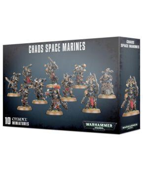 Chaos Space Marines - verzamelfiguur -144-delig