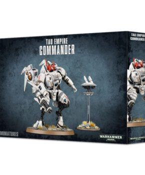 Warhammer 40K - T'au Empire Commander - verzamelfiguur