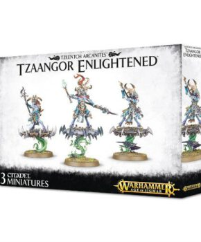 Warhammer 40K- Tzeentch Arcanites Tzaangor Enlightened