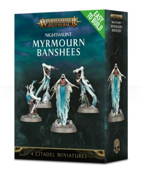 Easy to build: Nighthaunt Myrmourn Banshees - verzamelfiguur