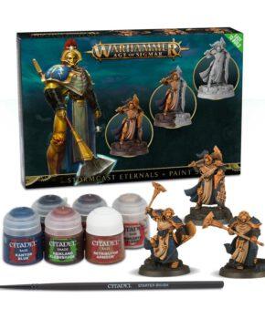 Warhammer StormCast  Eternals + verfset+ GER/FRE/ITA/DUT/CZ/SLV