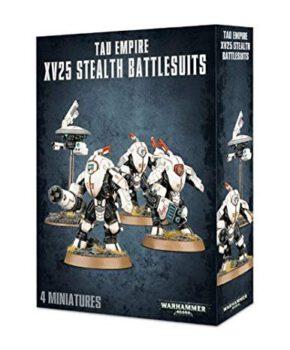Warhammer 40K – T'au Empire XV25 Stealth Battlesuits - verzamelfiguur